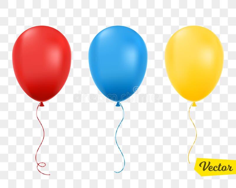 изолированные воздушные шары также вектор иллюстрации притяжки corel бесплатная иллюстрация
