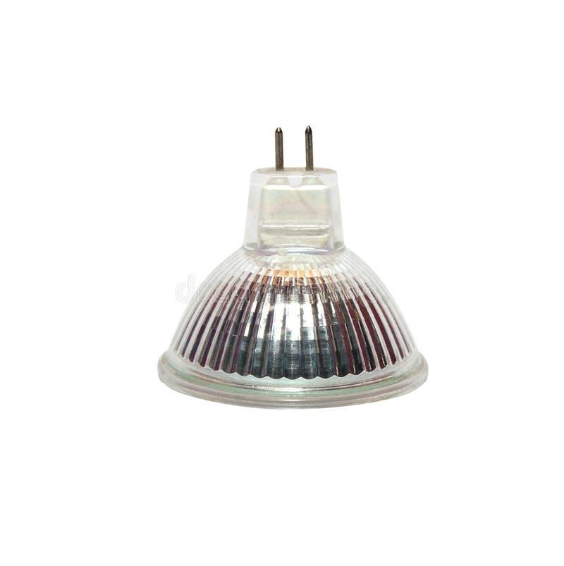 Изолированные лампы галоида на белой предпосылке с путем клиппирования стоковые изображения rf