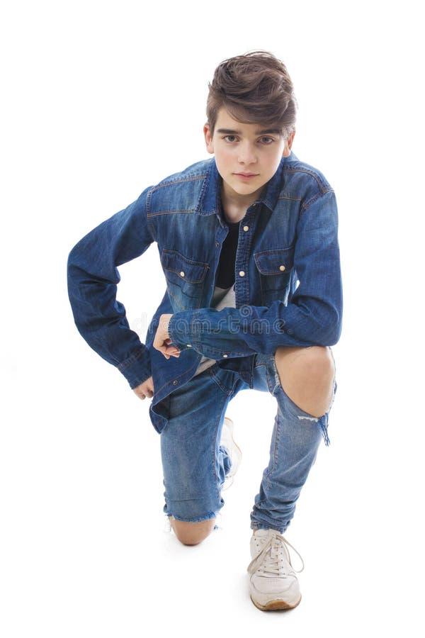 Изолированные молодой или предназначенный для подростков стоковые фотографии rf