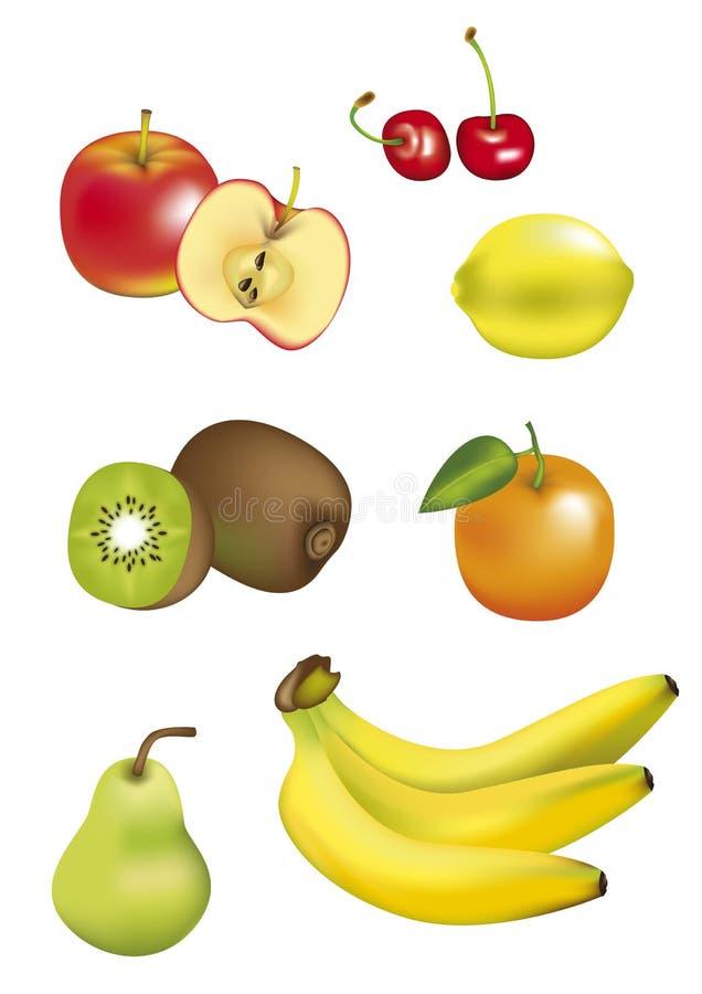 изолированные плодоовощи бесплатная иллюстрация