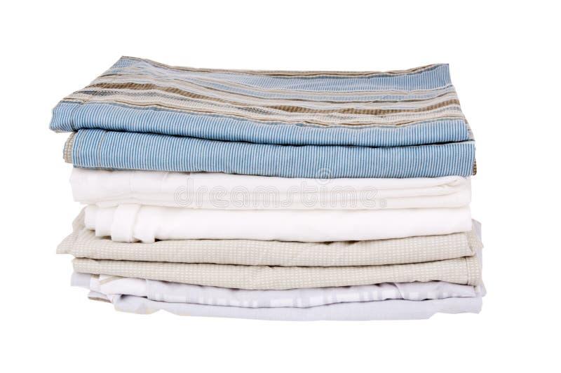 Изолированные постельные принадлежности стоковое изображение
