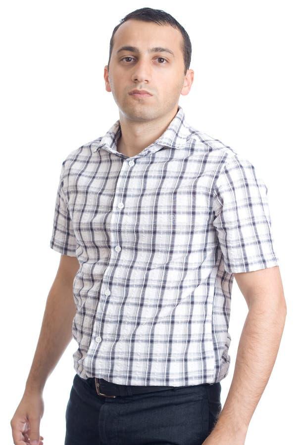 изолированные предпосылкой детеныши человека белые стоковое фото