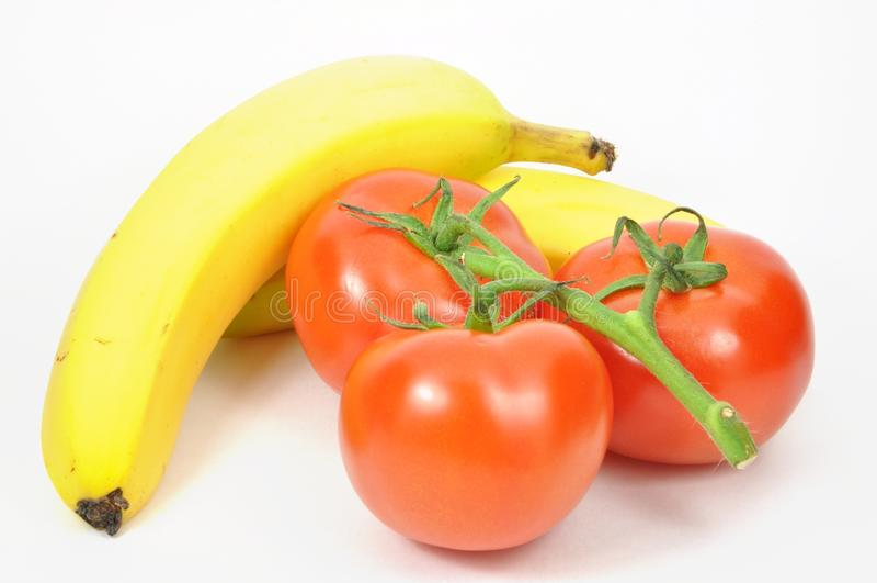 изолированные свежие фрукты стоковая фотография rf