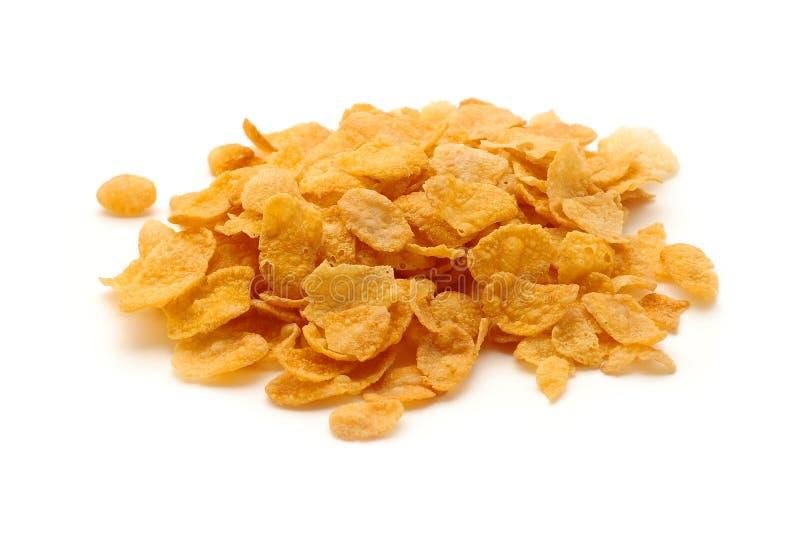 изолированные cornflakes стоковое изображение
