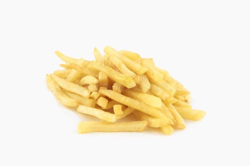 изолированные fries франчуза стоковое изображение rf