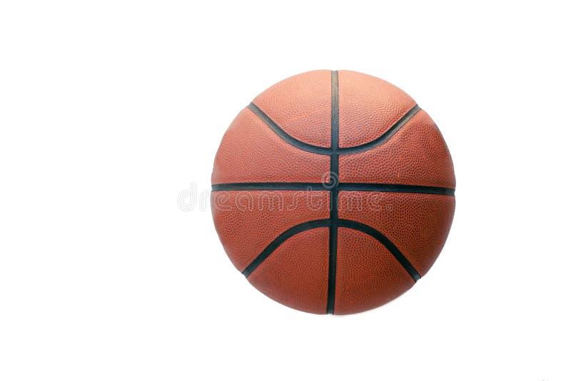 изолированный баскетбол стоковое изображение