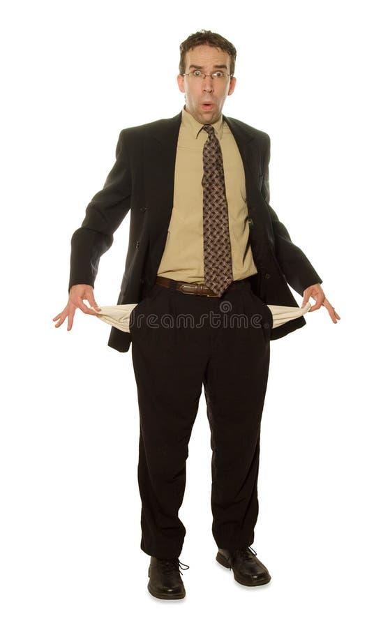 изолированный бизнесмен Стоковая Фотография RF