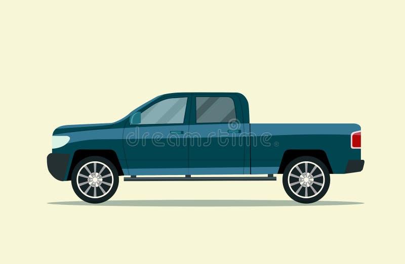 изолированный грузовой пикап бесплатная иллюстрация
