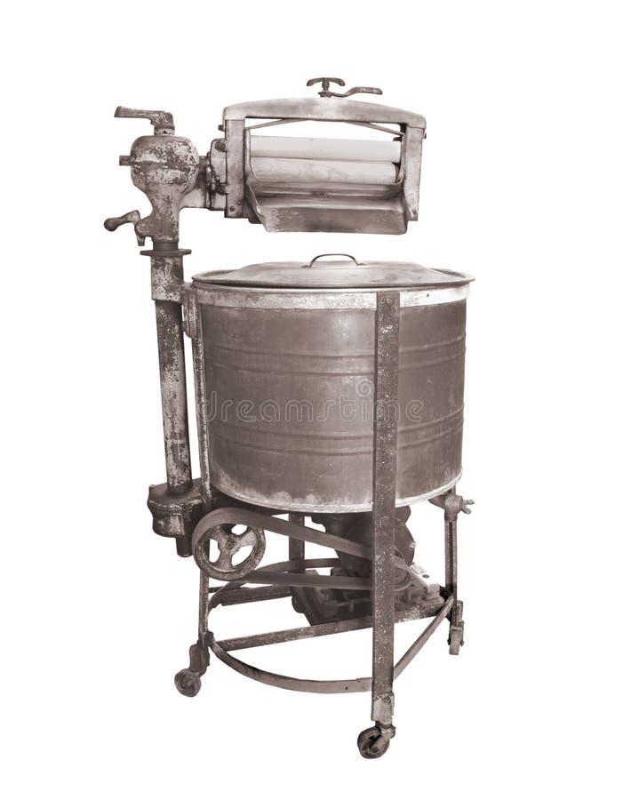 изолированный запиток сбора винограда звонаря машины стоковое изображение rf