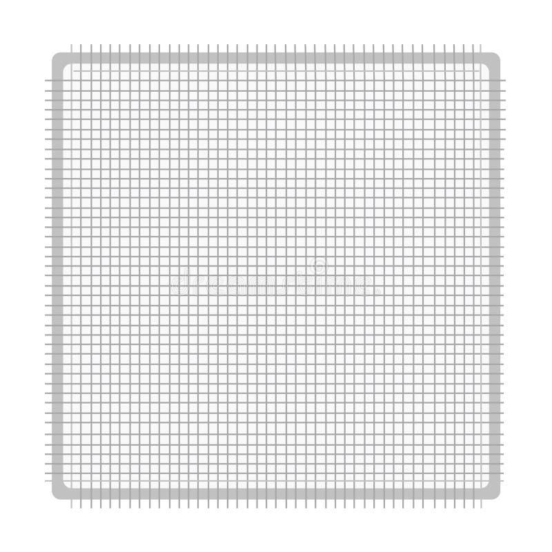Изолированный значок марли иллюстрация штока