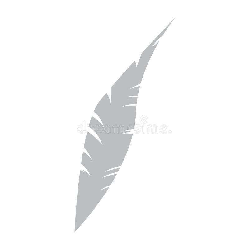 Изолированный значок пера бесплатная иллюстрация