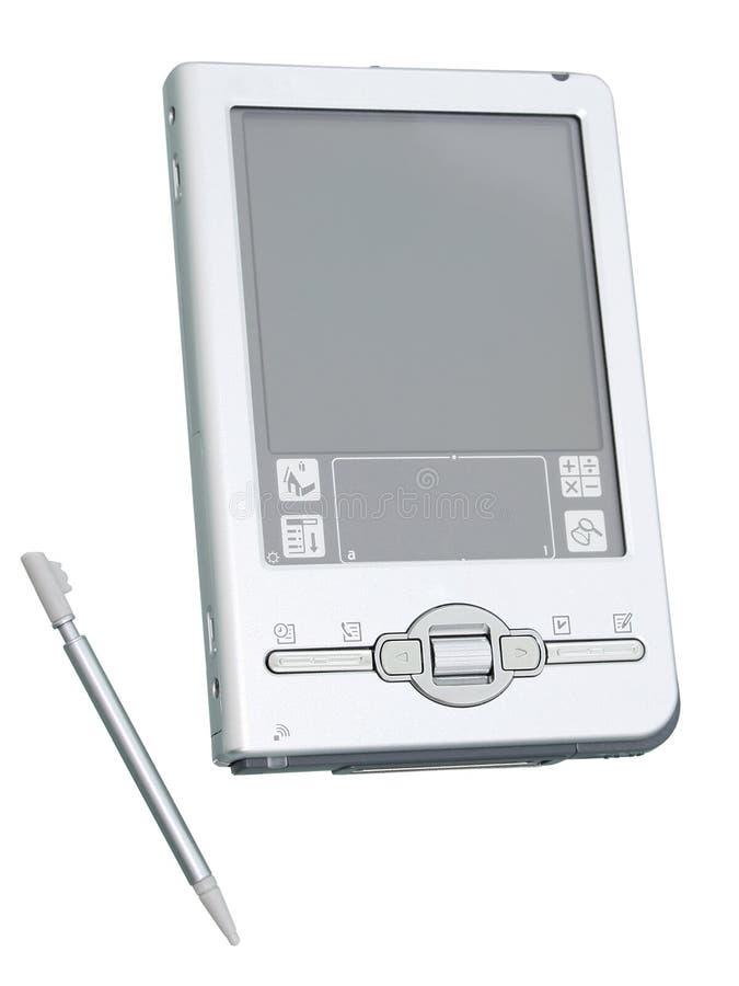 изолированный изображением стилизатор Palmtop 2mp 8 Стоковое фото RF