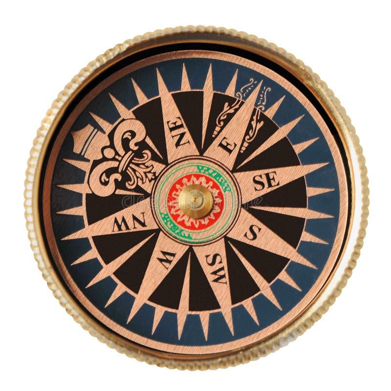 изолированный компас стоковые фото