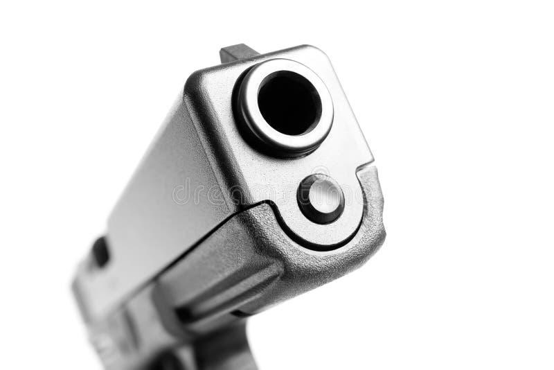 Изолированный макрос пушки стоковые изображения rf
