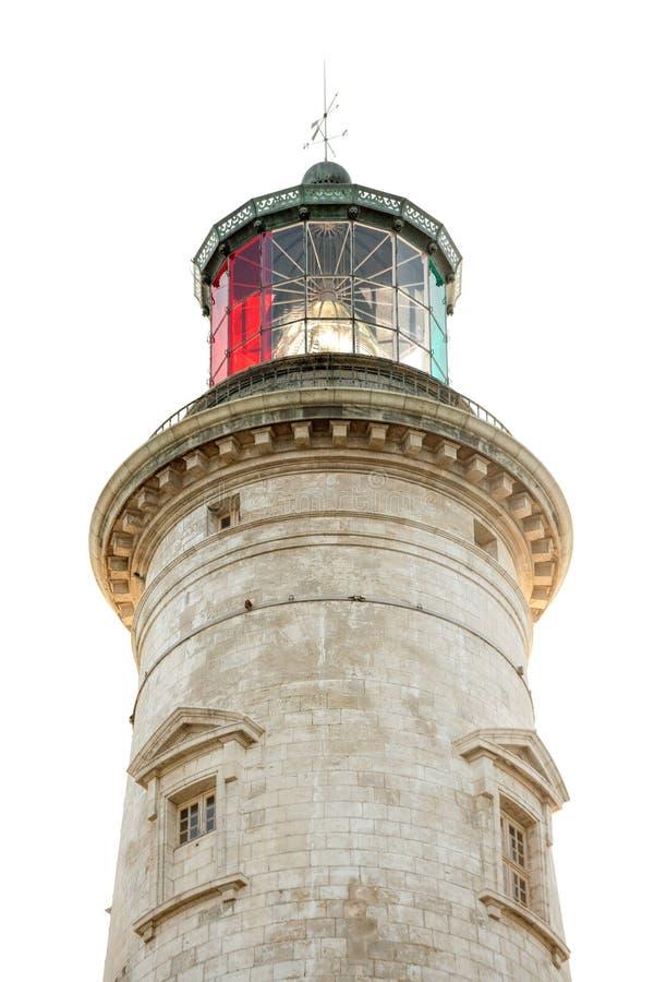 изолированный маяк стоковые фотографии rf