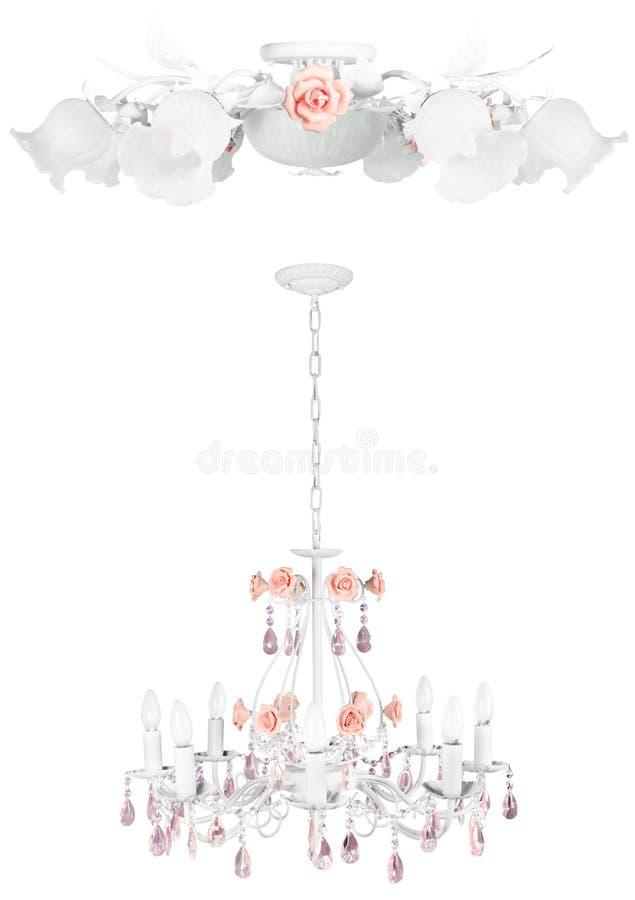 изолированный медовым месяцем сбор винограда светильников стоковые фотографии rf