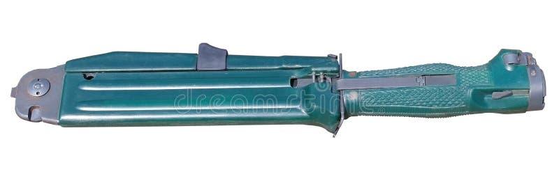 Изолированный нож боя или охотиться стоковая фотография rf