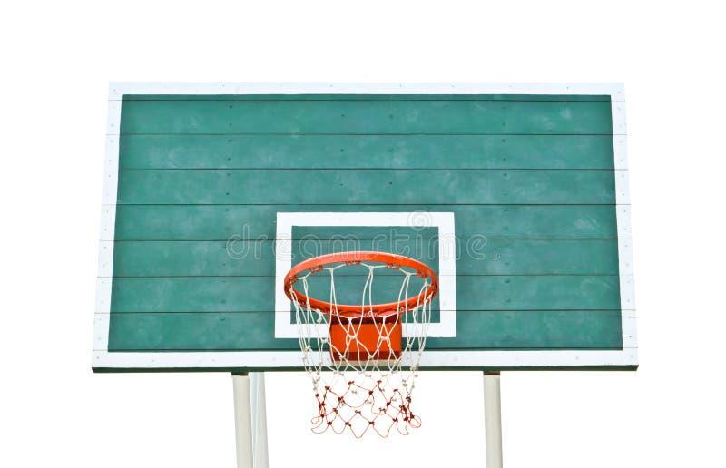 изолированный обруч баскетбола стоковые изображения rf
