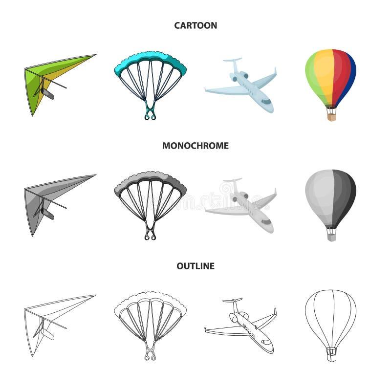Изолированный объект логотипа перехода и объекта Собрание перехода и скользя иллюстрации вектора запаса бесплатная иллюстрация