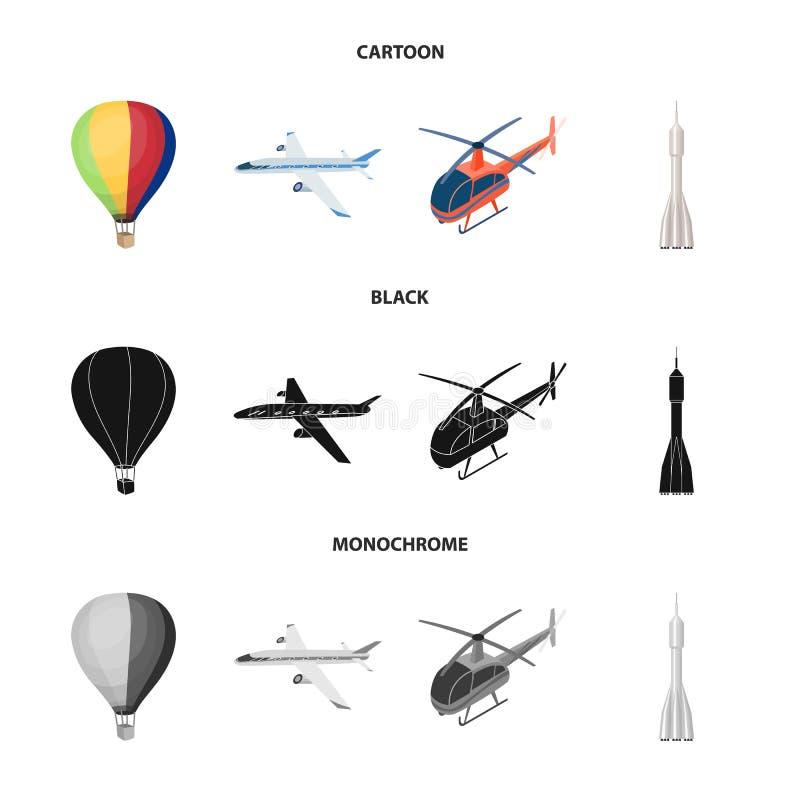 Изолированный объект транспорта и символ объекта Набор значков транспорта и вектора градации для склада бесплатная иллюстрация