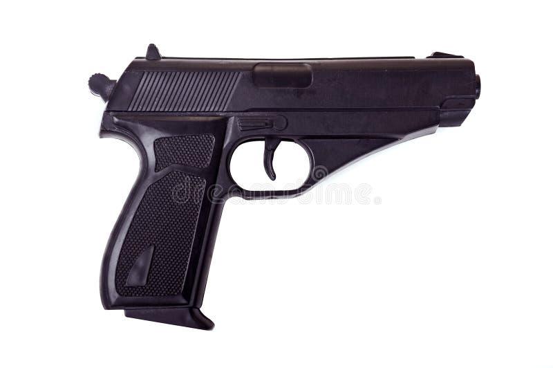 изолированный пистолет стоковое изображение rf
