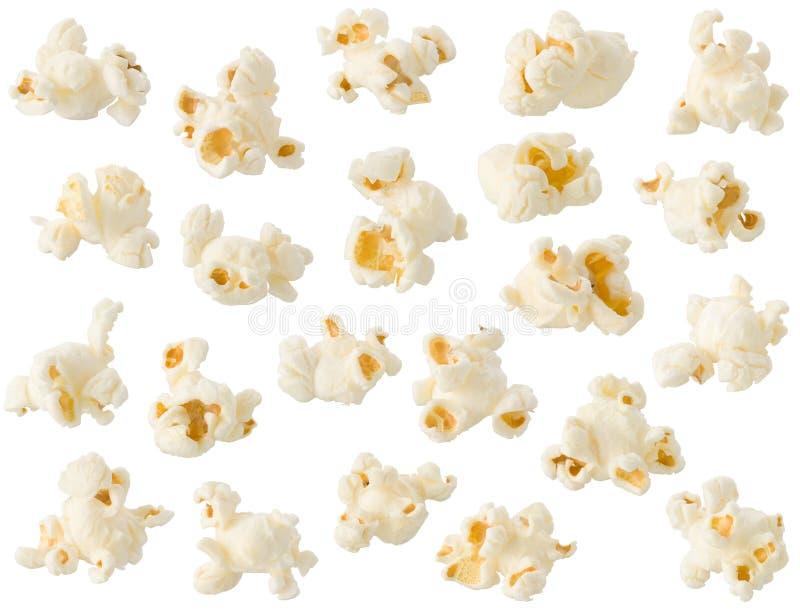 Изолированный попкорн стоковые фото
