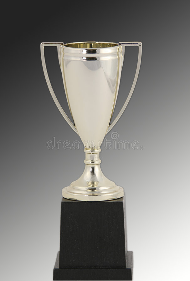 изолированный призовой трофей стоковое изображение rf