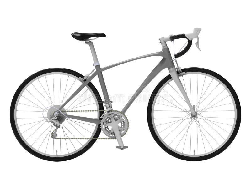 Изолированный реалистический велосипед 3D представить иллюстрация вектора