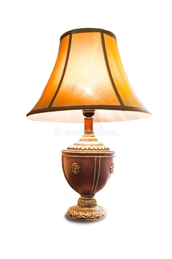 изолированный светильник стоковая фотография