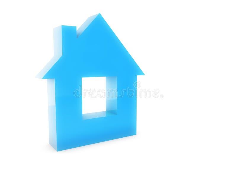 Изолированный символ дома бесплатная иллюстрация