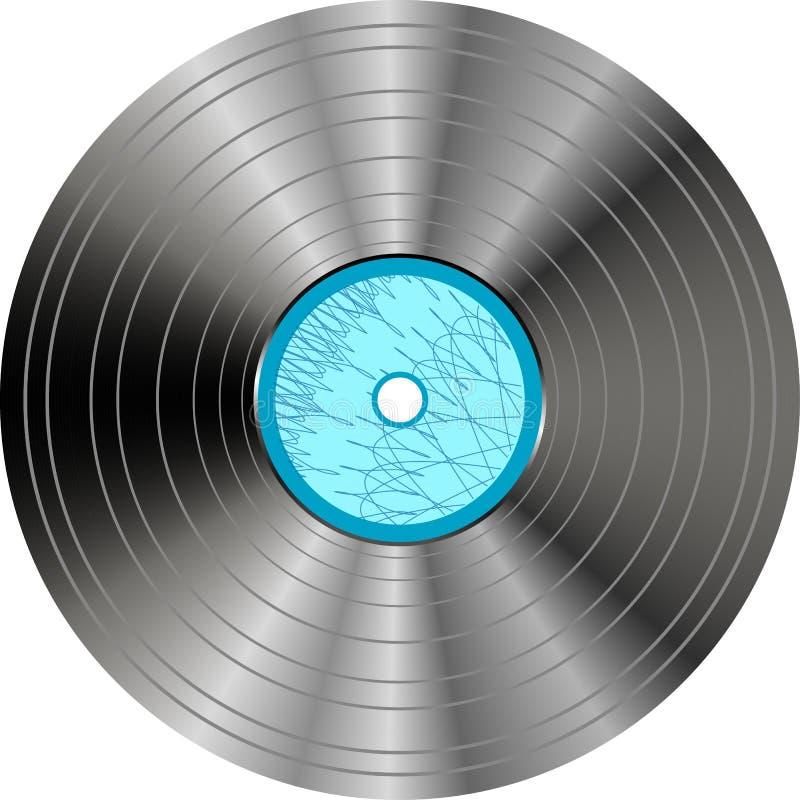 изолированный синью винил показателя ярлыка иллюстрация штока