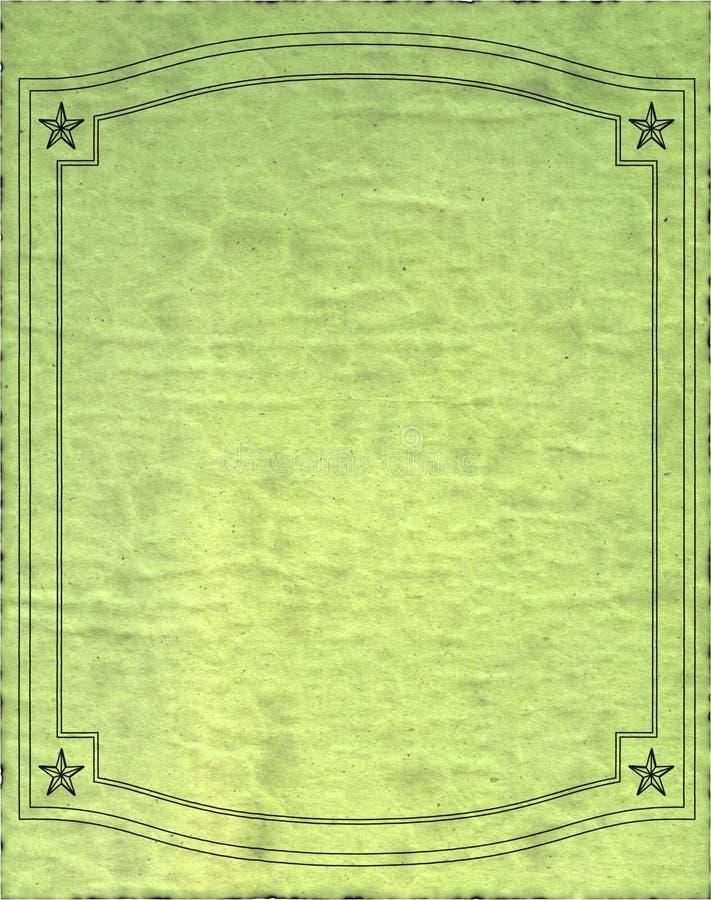 изолированный старый бумажный ретро сбор винограда текстуры стоковое фото rf