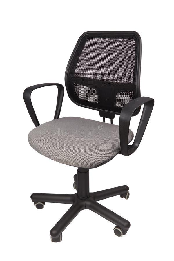 Изолированный стул офиса стоковое фото rf