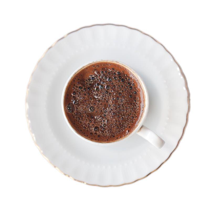 Изолированный турецкий кофе стоковые фото