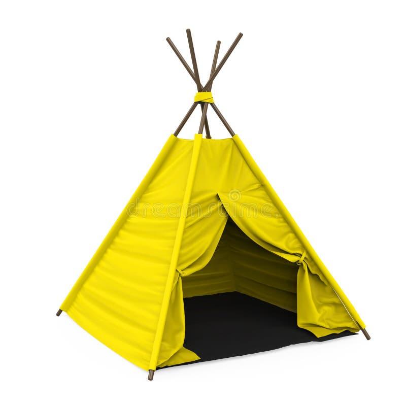 Изолированный шатер Teepee бесплатная иллюстрация