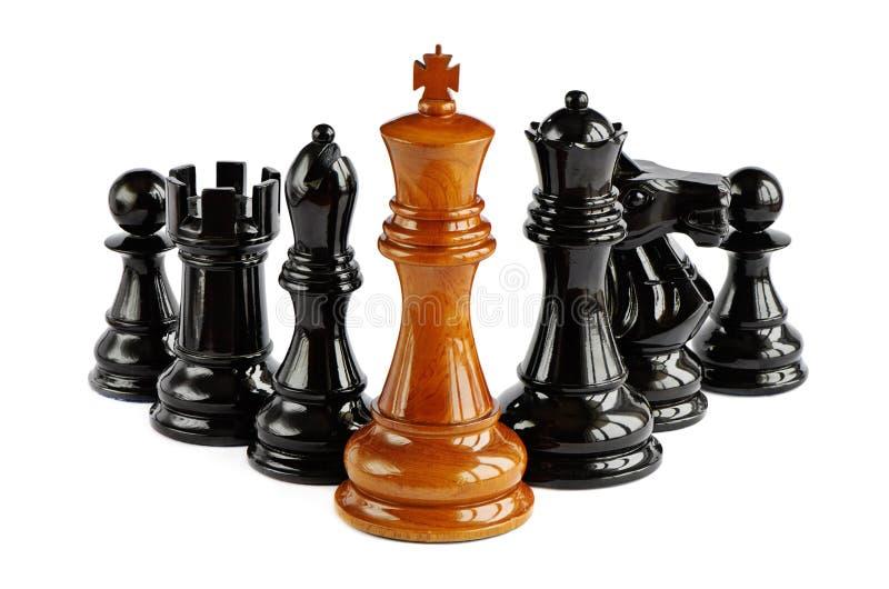 изолированный шахмат стоковые фото