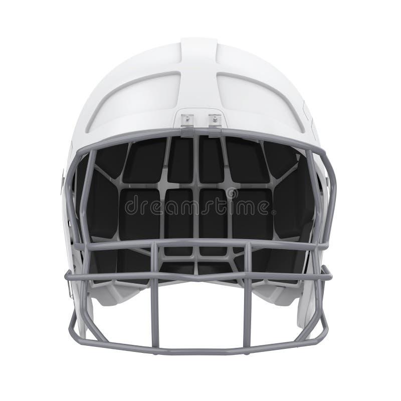 изолированный шлем американского футбола стоковое изображение rf