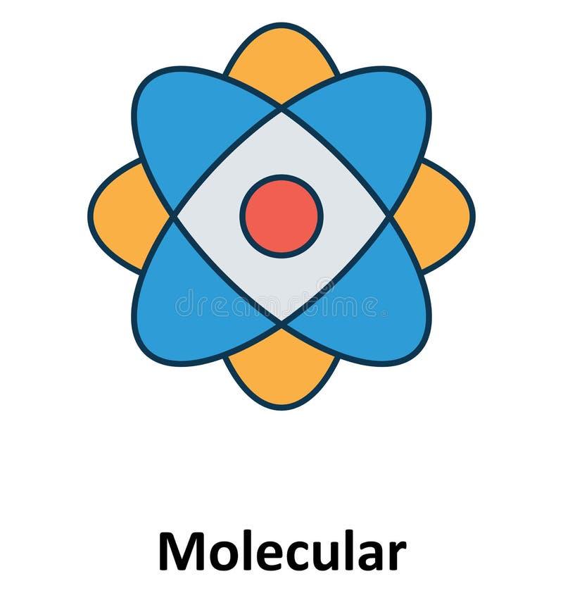 Изолированный электрон и значок вектора для технологии иллюстрация штока