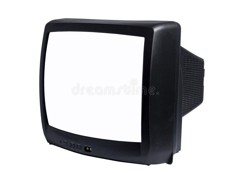 изолированный tv стоковая фотография rf