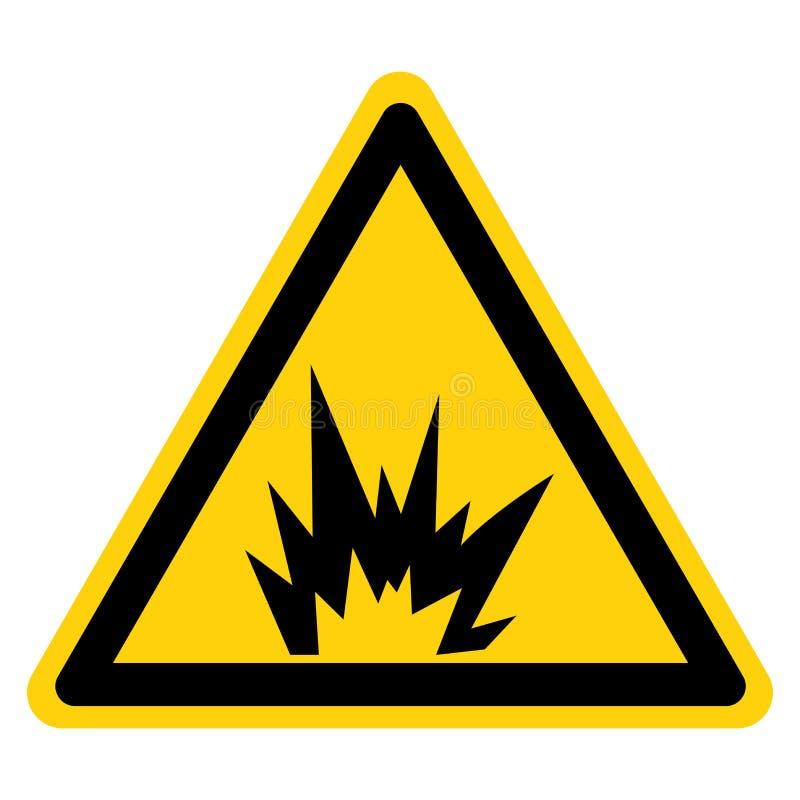 Изолят знака символа опасности дуги внезапный на белой предпосылке, иллюстрации вектора иллюстрация штока