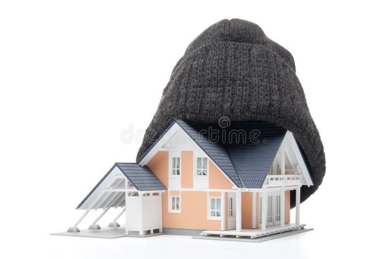 изоляция дома стоковое фото