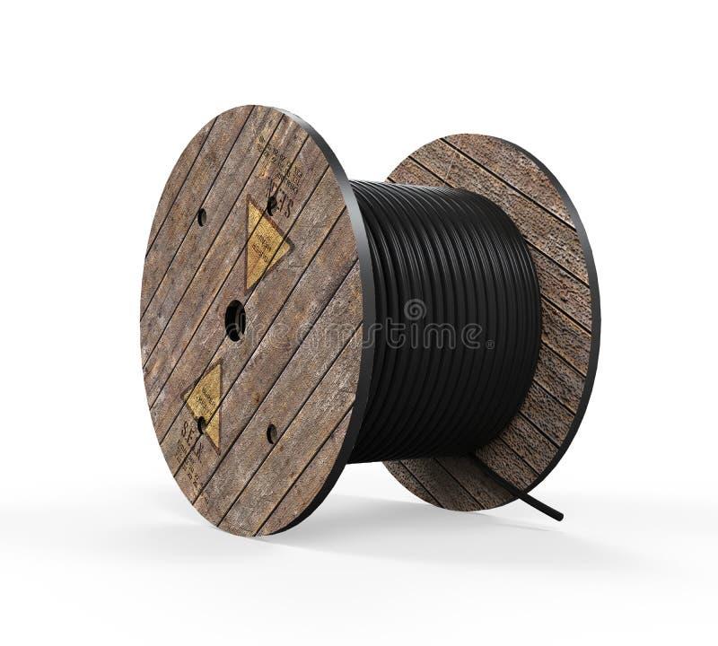 Изолированная веревочка провода бесплатная иллюстрация