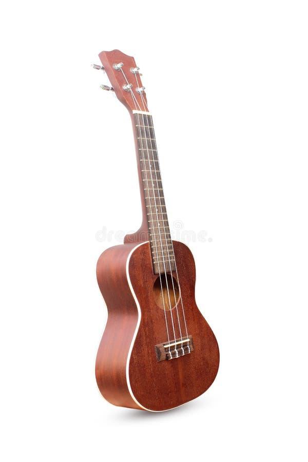 Изолированная гитара гавайской гитары гаваиская стоковая фотография