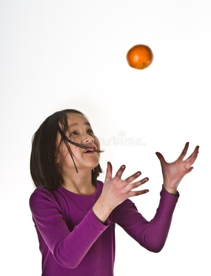 изолированная девушка предпосылки стоковая фотография