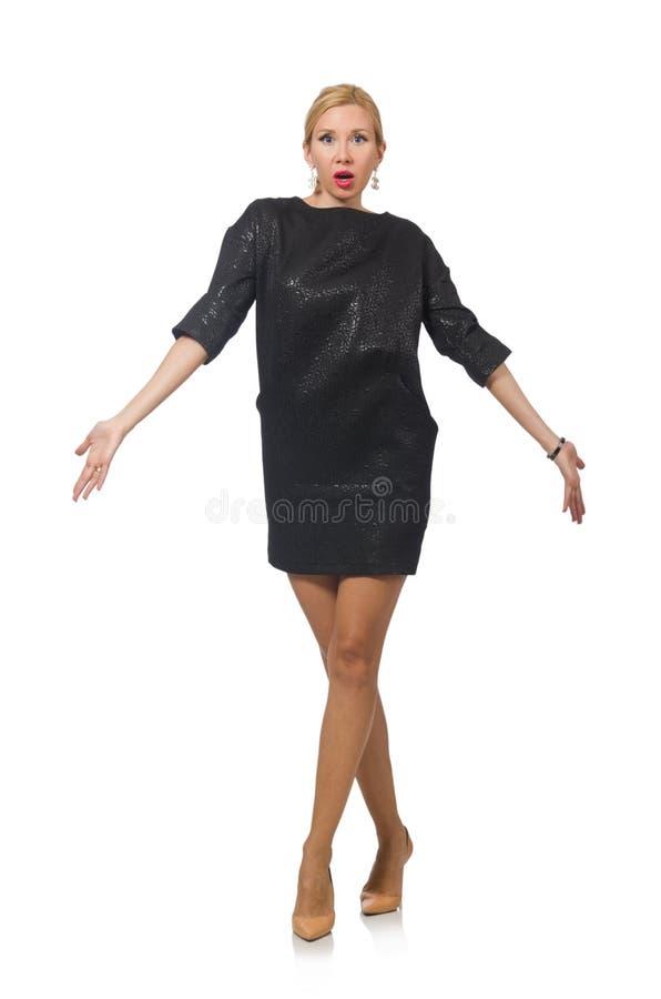 Изолированная женщина в концепции моды стоковое фото