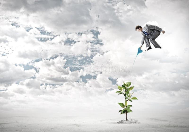 Download изолированная иллюстрация роста принципиальной схемы предпосылки 3d представила белизну Стоковое Изображение - изображение насчитывающей облечение, урожай: 41650667
