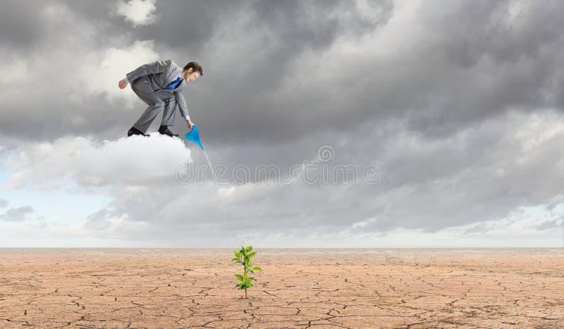 Download изолированная иллюстрация роста принципиальной схемы предпосылки 3d представила белизну Стоковое Фото - изображение насчитывающей мужчина, дело: 41651574