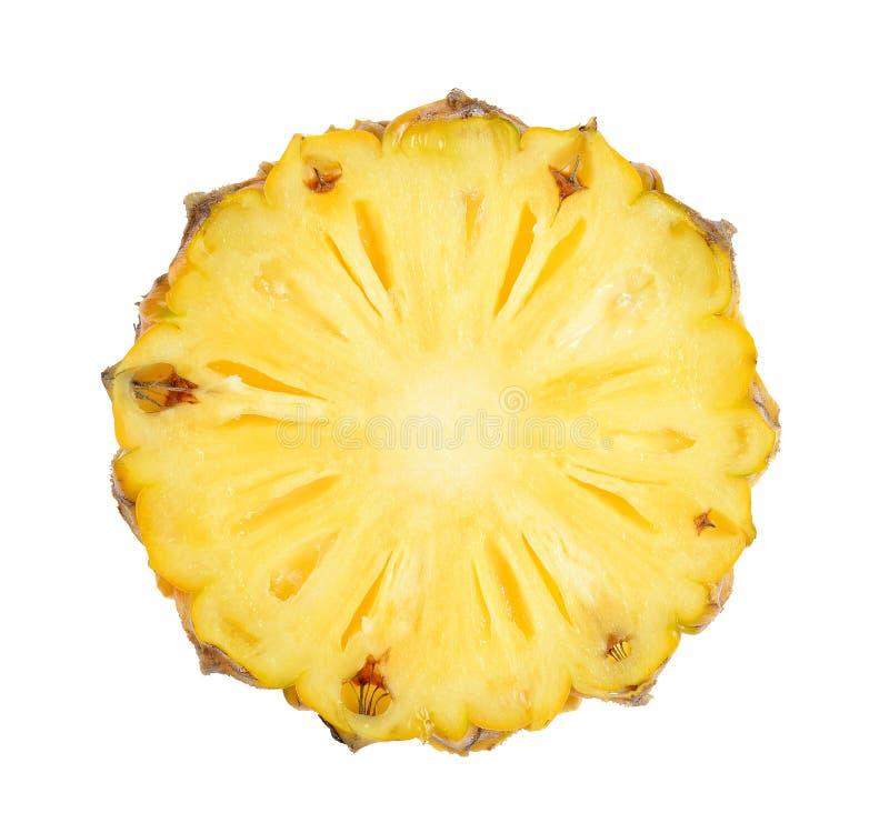 изолированная предпосылкой белизна ананаса стоковые изображения