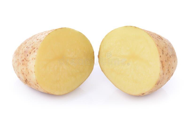изолированная предпосылкой белизна картошки стоковые изображения