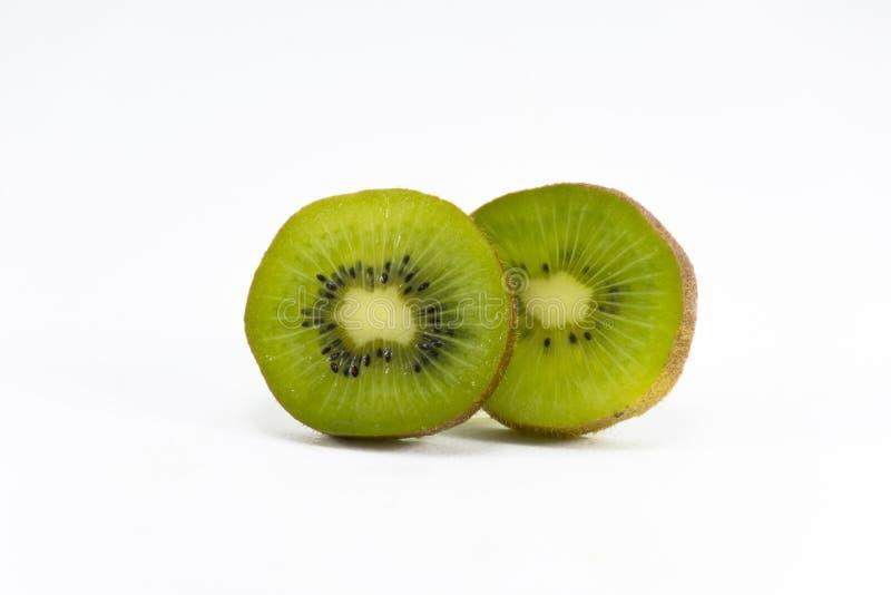 изолированная предпосылкой белизна кивиа Плодоовощ для здоровья и Высок-витамина стоковая фотография